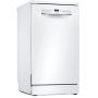 Bosch Serie 2 SPS2IKW04G Wifi Connected Slimline Dishwasher - White - A+ Rated
