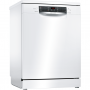 Bosch SMS46MW03G Serie 4 14 Place Freestanding Dishwasher With Cutlery Tray - White
