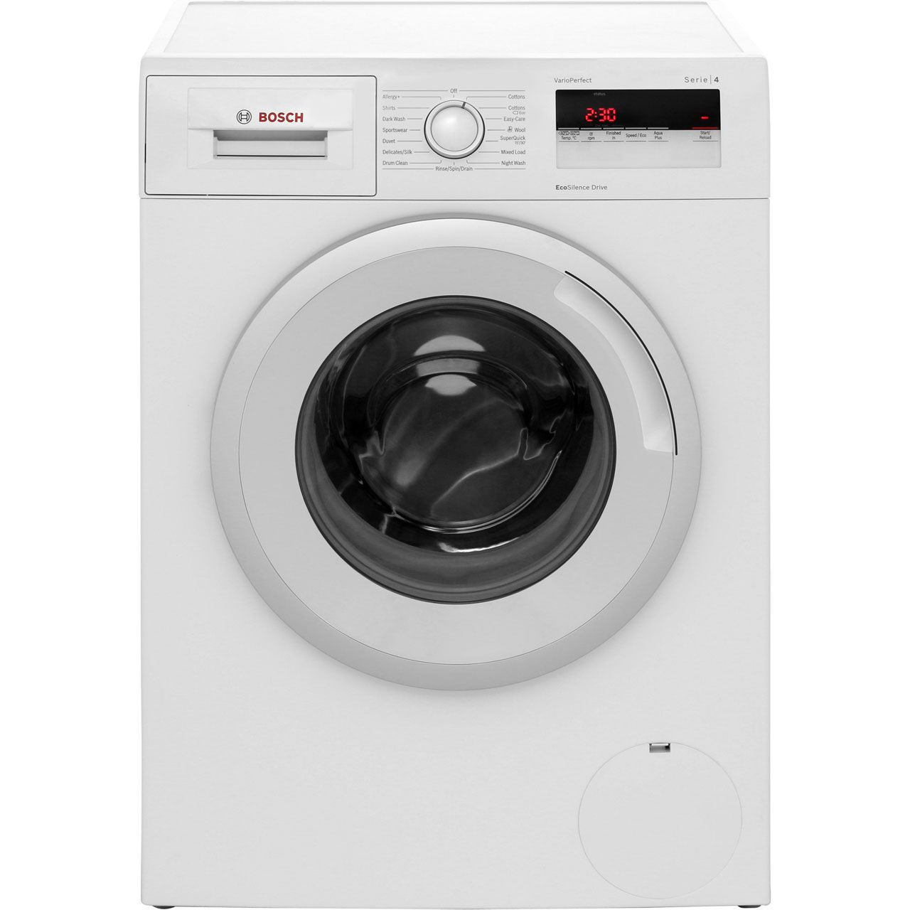 Bosch WAN24100GB Freestanding washing machine, 7 Kg Load, 1200 rpm Spin, A+++ Rated, White