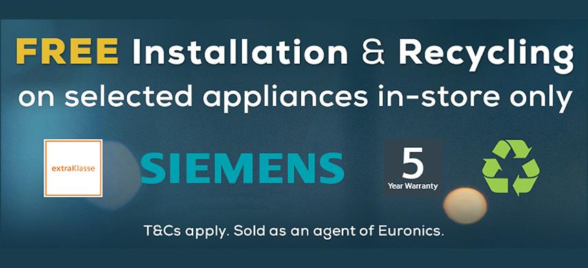 Siemens half price installations